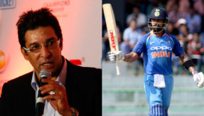 Legendary Wasim Akram praises Virat Kohli, calls him the best after Sachin Tendulkar