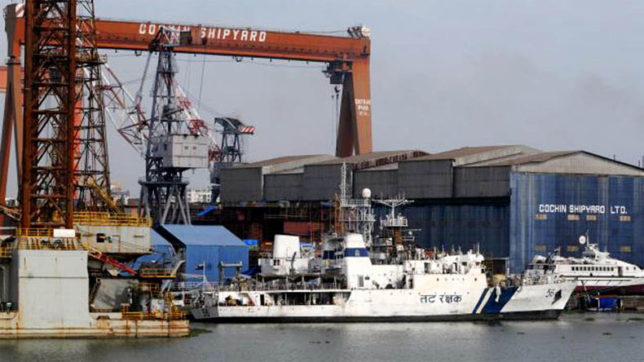 5 killed, several injured in blast at Cochin Shipyard; fire tenders at the spot
