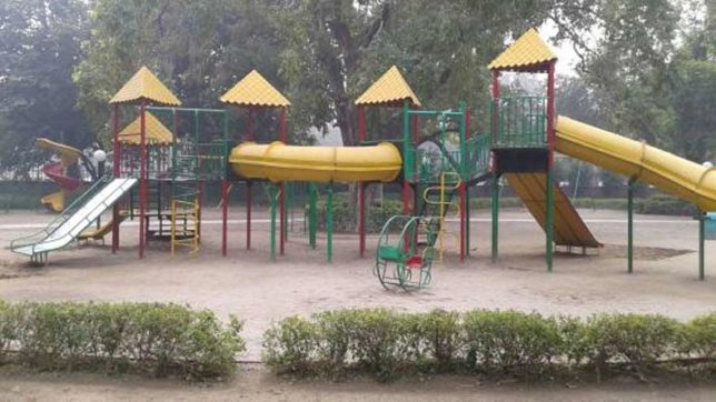 Kids' swings the ultimate fatality in Delhi war between BJP-dominated MCD and AAP