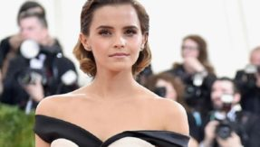 Harry Potter actress Emma Watson first to donate £1 million for victims of sexual harassment