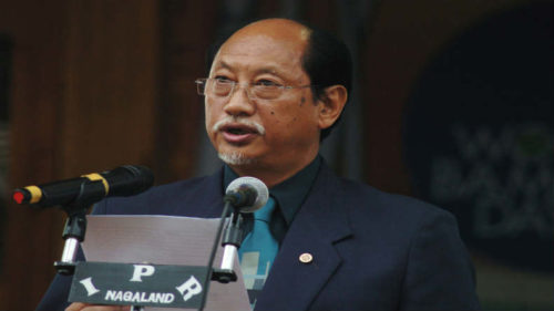 Former Cheif-Minster of Nagaland Neiphiu Rio join hands with BJP for upcoming assembly polls