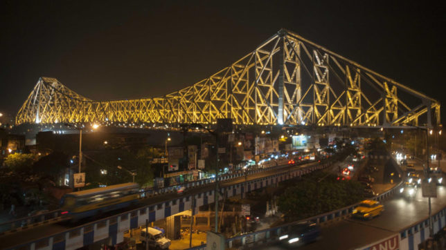 The iconic Howrah Bridge celebrates 75th anniversary