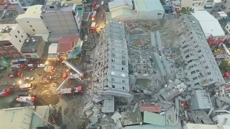 Taiwan earthquake: Death toll reaches 9, with 266 missing; aftershocks trigger panic