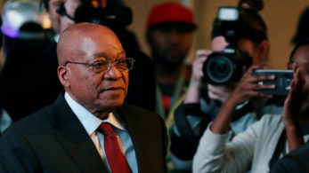 In his address to the nation, Jacob Zuma said he was resigning even though he did not agree with ANC's decision