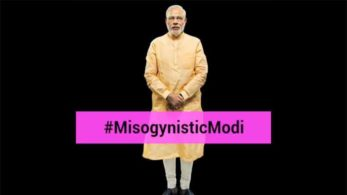 The video that is posted with the hashtag MisogynisticModi shows Prime Minister Modi's remark over Renuka Chowdhary laughter