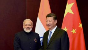 Narendra Modi arrives in Wuhan for informal talks with Xi Jinping