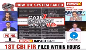 NPA files on NewsX Day 3, Case 7: Texcomash International Pvt Ltd defaulted Rs 63 crore loan from State Bank of Mysore in 2008, reveals our investigation