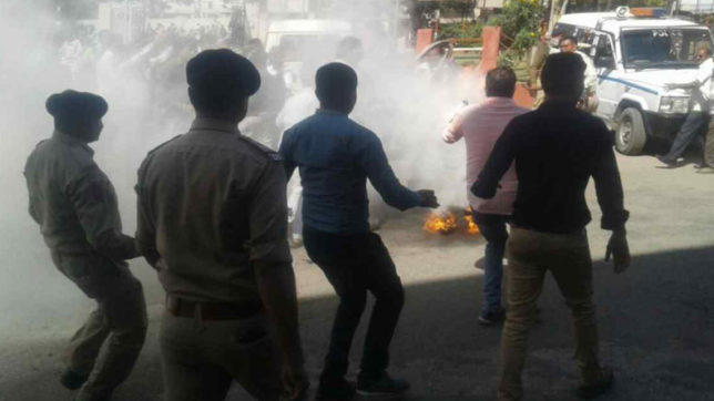 Unhappy with land allotment, Gujarat's retired clerk sets himself ablaze; dies