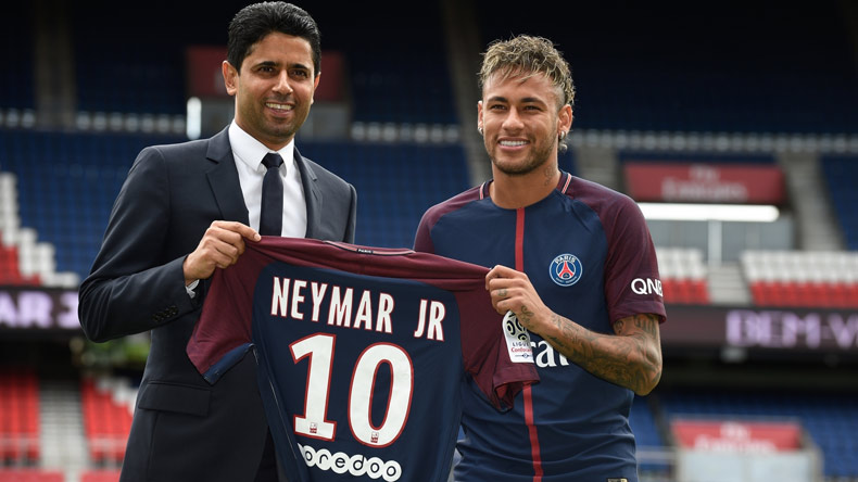 Real Madrid bound Neymar to stay at PSG, claims father