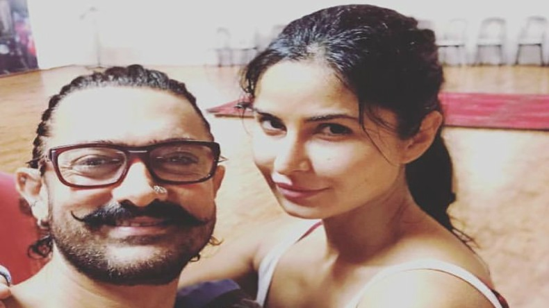 No portion of Thugs of Hindostan is being re-shot with Katrina Kaif, clarify YRF