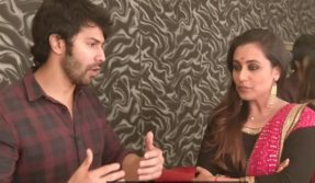 Varun Dhawan reveals his 'hichki' to Rani Mukerji; says I just froze and started talking too fast