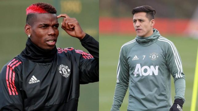 Manchester United star Alexis Sanchez clashed with Pogba and McTominay in Crystal Palace win?