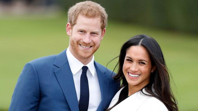Prince Harry and his fiance Meghan Markle