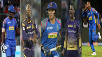 From Sanju Samson to Sunil Narine, here are five players to watch-out for in today's encounter between RR and KKR in Jaipur.