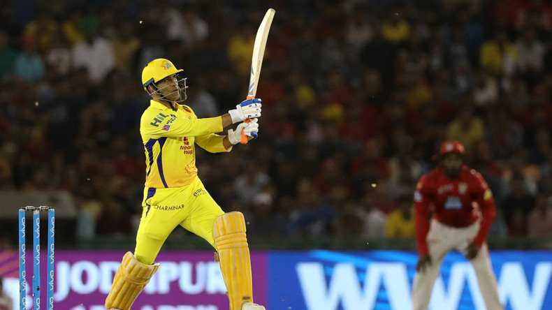 Don't-need-my-back!-My-arms-can-do-the-job,-says-Dhoni-after-braving-pain-against-KXIP