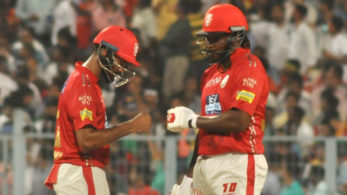 Gayle and KL Rahul were phenomenal with the bat in KXIP's 9 wickets victory over KKR