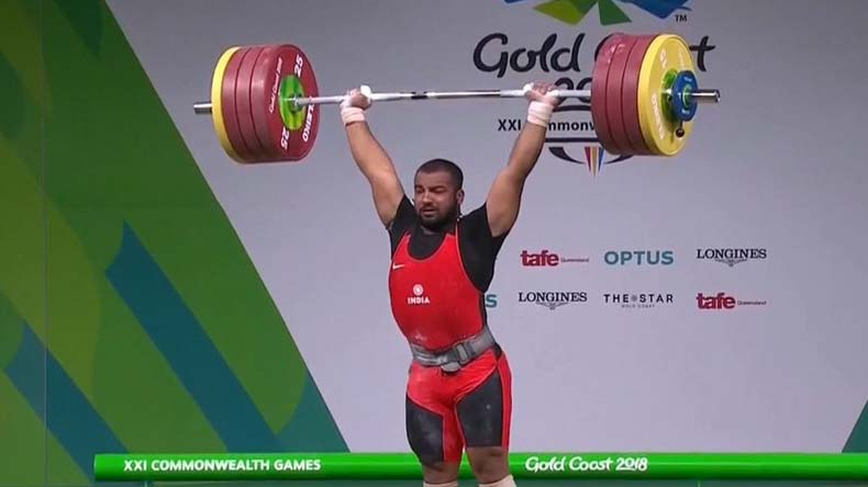 India's-Pardeep-Singh-claims-silver-medal-on-final-day-of-weightlifting-events
