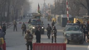 At least 4 killed, 20 injured in suicide bomb attack at election centre in Kabul