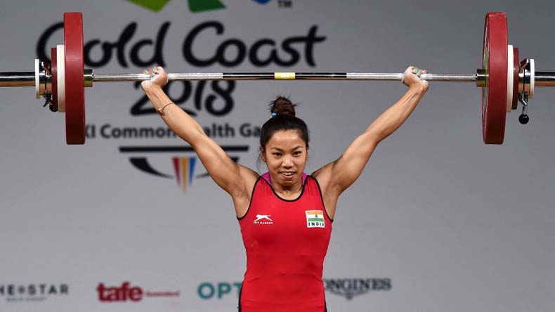 Mirabai Chanu, Saikhom Mirabai Chanu, Mirabai Chnau Commonwealth Games, Commonwealth Games gold coast, Gold coast 2018, Manipur, Commonwealth games 2018 gold medals, India in Commonwealth games, weightlifter Mirabai chanu