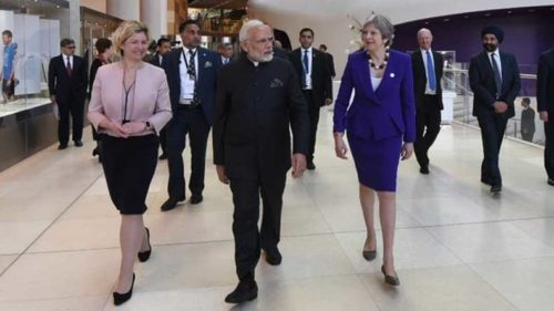 UK papers ignores Modi, no room on Page 1