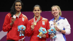 Saina Nehwal, PV sindhu, badminton, commonwealth games 2018, cwg 2018, badminton, women singles final, indian medal tally, medal tally cwg 2018