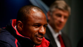 Patrick Vieira - Leading candidate to replace Arsene Wenger as Arsenal's manager