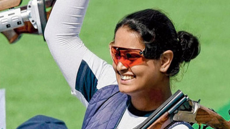 shreyasi singh, women's double trap, double trap shooting, double trap cwg 2018, commonwealth games 2018, cwg 2018, indian medal tally