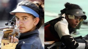 Commonwealth Games 2018, Tejaswini Sawant, Tejaswini Sawant wins gold, Anjum Moudgil, Anjum Moudgil wins silver, Indian shooter, India in shooting, Shooting at CWG, CWG 2018, Sports News, Latest News