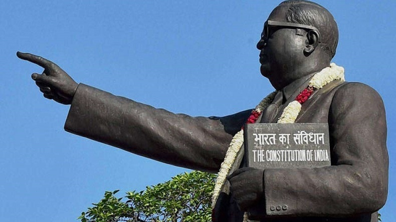 BR Ambedkar statue vandalised in Uttar Pradesh's Jaunpur district