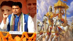 Internet, Biplab deb, Tripura CM, Chief Minister of Tripura, Mahabharata, Trolls, memes, jokes, Latest news, regional news, breaking news, NewsX, Tripura BJP, Congress BJP