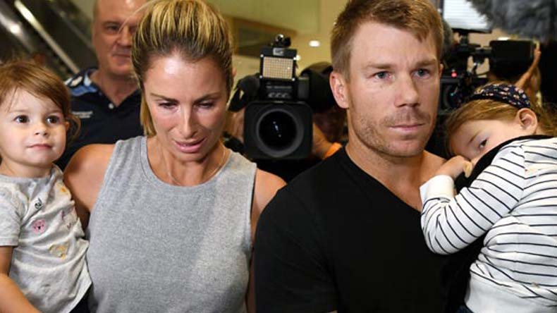 David warner, Candice warner, David warner wife, Sonny Bill Williams, ball tampering, ball tampering scandal, Sandpaper gate, Australia, Australia cricket team, Cricket Asutralia, Cricket, Sports, sports, Steve Smith