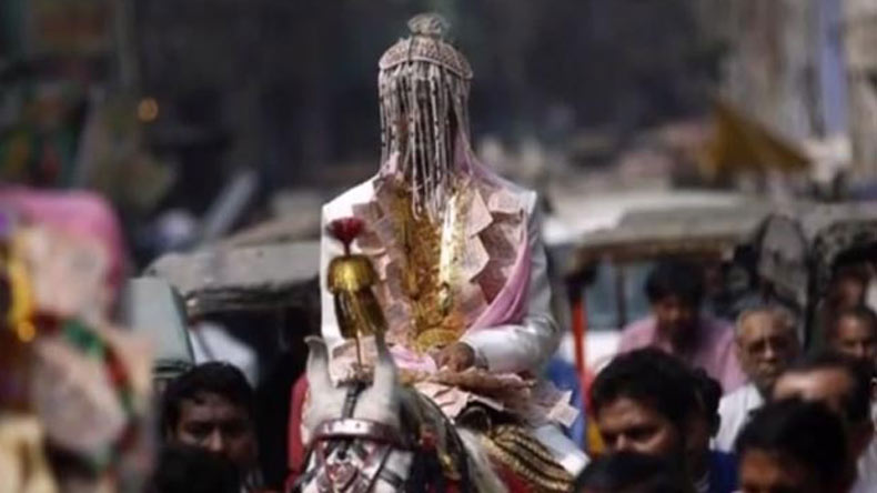 Dalit groom pushed off horse during wedding procession in Madhya Pradesh