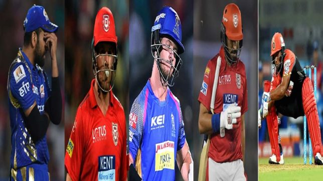 IPL 2018: From Rohit Sharma to Yuvraj Singh, five of the biggest flops in week 1