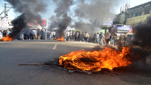 Silchar burns with communal clashes over social media messages