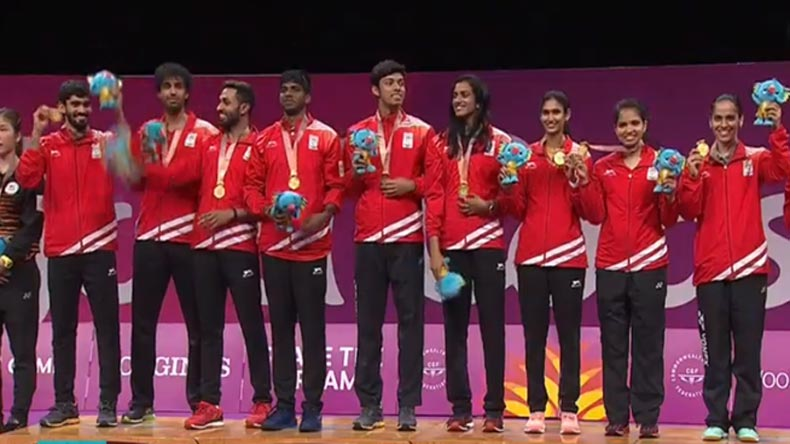 India at CWG 2018, Day 5 LIVE updates: Saina Nehwal wins Mixed team decider to give India its 10th gold medal
