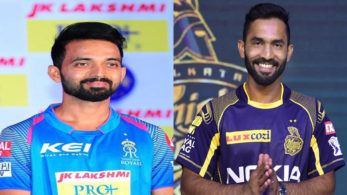 Two of the first-time captains in this year's IPL, Ajinkya Rahane and Dinesh Karthik go up against each other after having won their previous encounters convincingly.