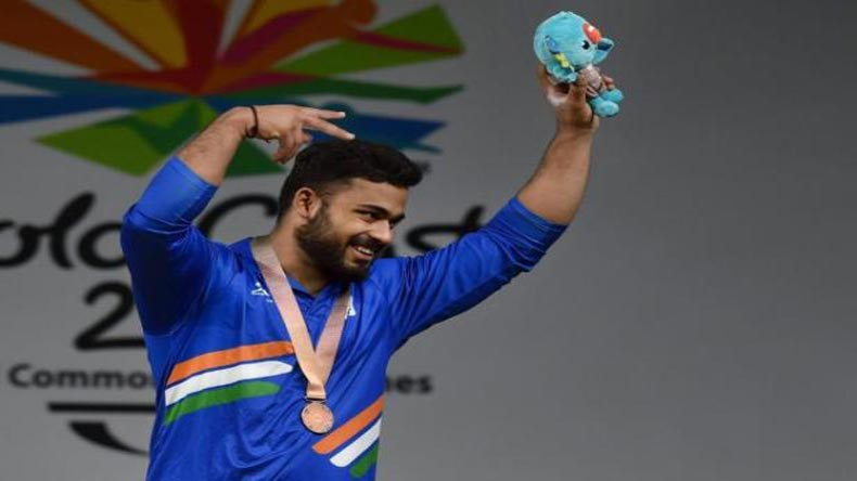 Vikas Thakur, Commonwealth Games, CWG, CWG 2018, Commonwealth Games 2018, inidan weightlifters, weightlifters, 94 kg wightlifting, gold coast, india medals cwg 2018