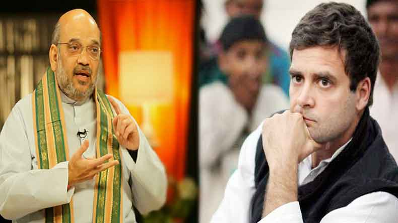 Mockery of Constitution Vs murder of democracy: Rahul Gandhi and Amit Shah fight it out on Twitter