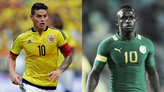 Image result for colombia vs senegal