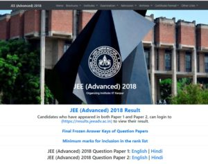 jee advanced results, results of jee, IIT kanpur, jeeadv.ac.in, jee result 2018, Joint Entrance Exam Advanced Engineering, Cuttof list, jeeadv.nic.in, JEE toppers, JEE advanced 2018, JEE result live, JEE advanced live, Live updates, JEE advanced scores, JEE advanced AIR, JEE advanced topper, CRIME NEWS, REGIONAL NEWS