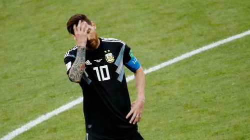 FIFA World Cup 2018: Lionel Messi fails to convert penalty as Iceland hold Argentina in 1-1 draw