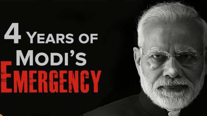 Congress hits back at PM Modi, says country facing undeclared emergency under BJP rule