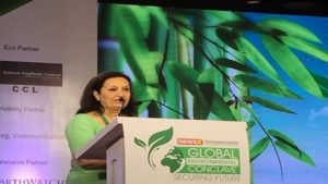 Max India Foundations, CEO,Mohini Daljeet Singh,Global Environment Conclave,Jitendra Singh,Modi,Narendra Modi,Environment concern,wildlife,ecosystem,environment news,latest news