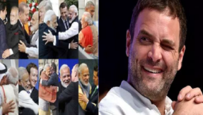 Rahul Gandhi out-hugs PM Modi, here's how other leaders reacted