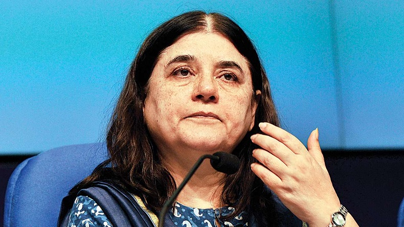 Maneka Gandhi, Maneka gandhi calls transgender the other ones, Women and Child Development Minister Maneka Gandhi, Maneka Gandhi apologies for her transgender comment, Trafficking of Persons (Prevention, Protection and Rehabilitation) Bill