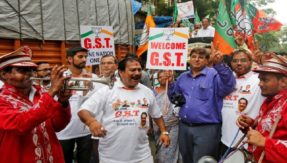 BJP celebrates one year of GST, calls it an example of cooperative federalism; Congress rebukes, says GST a 'Grossly Scary Tax'