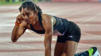 Hima Das won her semi-final in the Women's 400-metre event at the IAAF World U-20 Championships