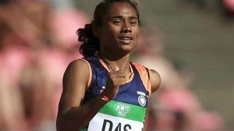 Sprinter Hima Das becomes first Indian woman to win gold at IAAF World Under-20 Athletics Championships