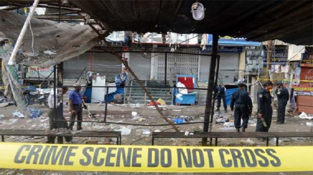 4 dead in Hyderabad's Nanakram Guda  after bomb rips off at a construction site