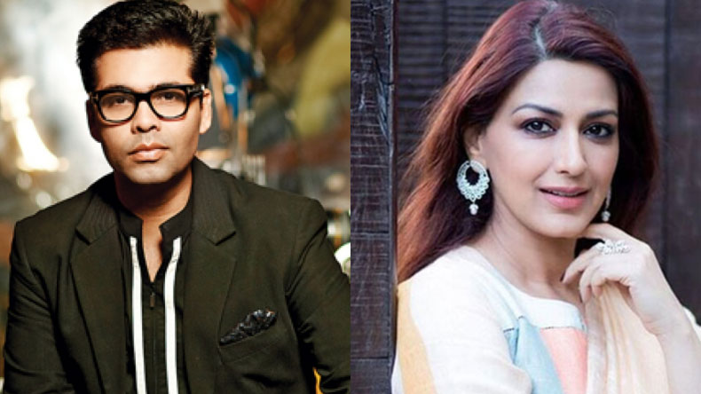 Karan Johar Sonali Bendre, Karan Johar wishes Sonali Bendre, Sonali Bendre Behl, Sonali Bendre cancer, Sonali Bendre high grade cancer, Sonali Bendre cancer Twitter reaction, Fans reaction, Sonali Bendre Behl cancer, metastasized, metastasised, India's best dramebaaz, treatment, New York